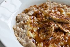 Creme Brulee Oatmeal ~ http://steamykitchen.com
