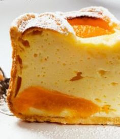 es wp-content uploads 2014 09 tarta-de-queso-y-mango-una-delicia-de-postre. Köstliche Desserts, Delicious Desserts, Dessert Recipes, Yummy Food, Mango Recipes, Mexican Food Recipes, Sweet Recipes, Bolivian Food, Mini Cheesecakes