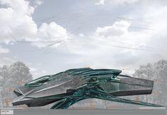 Elevation south 1:100 Architecture project bac-thesis  simon paukner  ./studio3  uni innsbruck