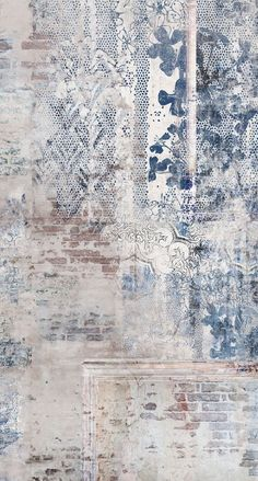 58 Ideas for bedroom vintage wallpaper ideas Wallpaper Wall, Textured Wallpaper, Textured Walls, Wallpaper Ideas, Tapetes Vintage, Textures Murales, Bedroom Decorating Tips, Wall Murals, Wall Art