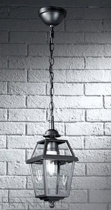 Traditional Oudoor Hanging Porch Lantern GunmetalTechnical Data: Manufacturer:Franklite Height (mm)Lantern 390 Diameter (mm):155 Max Wattage:1 x 100w SocketES - E27 LampRequired IP Rating:IP43