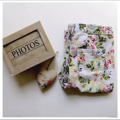 """Adorable Floral Capris Adorable Floral Capris-Pre-loved.  Slim leg.  5 functional pockets.  23.5"""" inseam.  97% Cotton 3% Spandex.  It was difficult to capture the beautiful colors but this is very close.  The last photo isn't the best and I apologize.  Just wanted to show you the full length.  Selling these for a family member.  All proceeds from this purchase will be donated to our local animal shelter. Style & Co Jeans"""