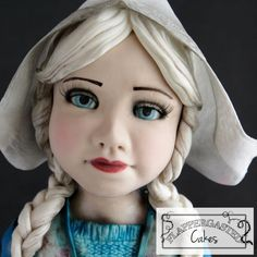 Dutch cheese girl doll Annie by Flappergasted Cakes