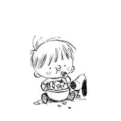 Chris Chatterton – Illustrator & Author – Chris Chatterton's Illustration Sketches - Top-Trends Art And Illustration, Character Illustration, Little Boy Drawing, Dibujos Baby Shower, Children's Book Characters, Fantasy Character, Cartoon Sketches, Cute Sketches, Doodle Art Journals