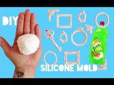 SILICONE MOLD DIY- STAMPI IN SILICONE FAI DA TE - YouTube