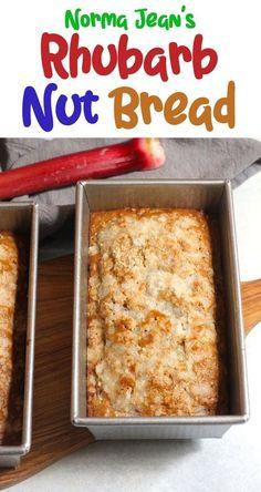 Rhubarb Nut Bread, Rhubarb Cake, Blackberry Bread, Rhubarb Crunch, Rhubarb Coffee Cakes, Rhubarb Muffins, Best Rhubarb Recipes, Rhubarb Desserts, Scones