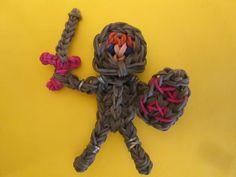 Rainbow Loom Knight Figure - How to Video