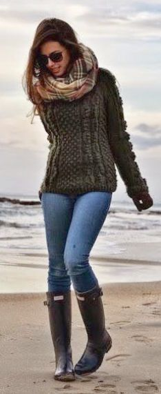 Sweet - Fall Outfits 2017 Youtube #super Casual Fall Outfits, Fall Winter Outfits, Autumn Winter Fashion, Casual Winter, Winter Wear, Winter Tops, Winter Dresses, Preppy Mode, Preppy Style