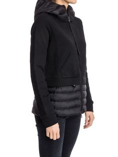 MONCLER Down Jackets MONCLER KNIT/DOWN HOODIE JACKET 5