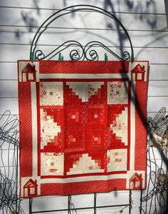 Star Log Cabin and Mini Quilt « Moda Bake Shop>Mid Winter Reds fabrics
