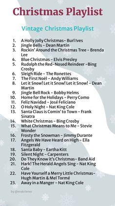 Christmas Feeling, Cozy Christmas, Christmas Time, Vintage Christmas, Christmas Songs List, Classic Christmas Songs, Christmas Activities, Christmas Traditions, Playlists