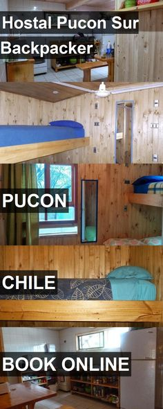 Hotel Hostal Pucon Sur Backpacker in Pucon, Chile. For more information, photos, reviews and best prices please follow the link. #Chile #Pucon #travel #vacation #hotel