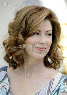 Cheap Women Wig - Best Wavy Curls Hairstyles for Mature Or Elder Women Online with $149.22/Piece   DHgate
