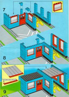 Town - Car Repair Shop [Lego 1966]