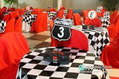Resultado de imagem para centro de mesa aniversario carros