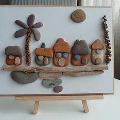 Casas hechas a partir de piedras