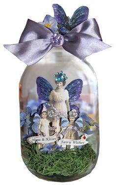 Captured Fairies Mother's Day jar