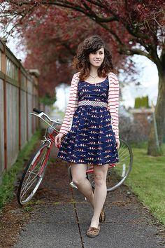 Bike Ready by Delightfully Tacky, via Flickr