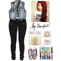"""""""♥ Stay Beautiful ♥"""" by latina-swag on Polyvore"""