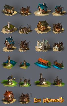 The Builders : Middle Age / Bombyx & Asmodee on Behance