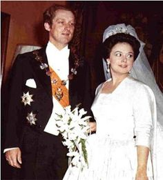 Grand Duchess Maria Vladimirovna of Russia and Prince Franz Wilhelm of Prussia September 22, 1976