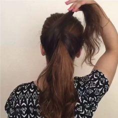 Amei e vcs gostaram? Marque as amigas para seguirem nossa pagina tambem  ❤️ @tutorialdodia _ #amazing  #hairtutorial