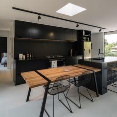 WAiheke house - kitchen using strand board