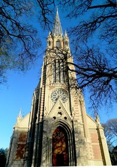 The Catedral de San Isidro, Buenos Aires, Argentina shows the religious background of a country. Art Roman, Religious Architecture, Cathedral Church, Largest Countries, Chapelle, Place Of Worship, Kirchen, Vacation Spots, Wonders Of The World