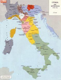 Italy in 1700-1796.