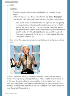 Emma Thompson is fab!