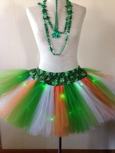 St. Patrick's Day Irish Flag Adult Small Tutu by lookatmybooties