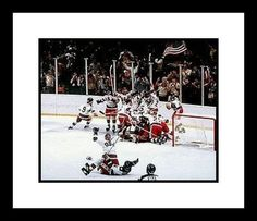 1980 USA Olympic Hockey NHL Framed 8x10 Photograph Miracle on Ice by Unknown. $55.50. There is no better way to commemorate your favorite player or team than this quality collectible. This Officially Licensed 8x10 Photo has been double matted with acid free mats - white outside, black inside. Item is then framed in a high quality black wood molding. Photo is protected by high strength premium clear glass. Approximate finished framed size is 12 1/4 inches by 15...