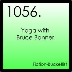My Fiction Bucket List. LOL!!!!!!!!!!!!!!!!!!!!!!!!!!!!!!!!!!!!!!!!!!!!!!!