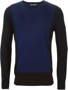 Colour Block Sweater   Neil Barrett