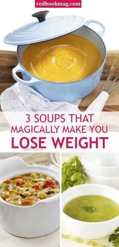 LOW CALORIE AND HEALTHY SOUP RECIPES: No starving, just healthy eating. Three words: Pass the spoon! Click through for these easy and healthy soup recipes including Butternut Squash soup, Bean and Spinach soup, and Spicy Country-Vegetable soup. No Calorie Foods, Low Calorie Recipes, Low Calorie Soups, Diet Foods, Lowest Calorie Meals, Low Calorie Lunches, Low Calorie Drinks, Healthy Low Calorie Meals, Healthy Drinks