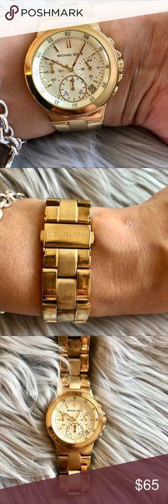 5470c6f1c4d Micheal Kors 5223 Gold Watch Gold MK Watch