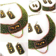 Manual, Beaded Necklace, Shop My, Handmade, Jewelry, Fashion, Hand Made, Jewellery Making, Moda