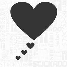 Resultado de imagem para desenhos de coração para imprimir