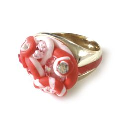 #missbibi #bague #ring #playtime #strawberry #icecream #jewelry #original #fraise #vanille #vanilla #game #jeux #play #childhood #memories #remember #souvenirs #enfance #bijou
