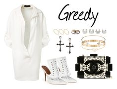 """Greedy"" by anaelle2 ❤ liked on Polyvore featuring Alexandre Vauthier, Givenchy, mizuki, Chanel, Cartier, Jeweliq, Delfina Delettrez, Maison Margiela and ASOS"