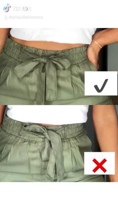 Diy Fashion Videos, Diy Fashion Hacks, Fashion Tips, Fashion Poses, Fashion Outfits, Womens Fashion, Teen Fashion, Mode Outfits, Casual Outfits
