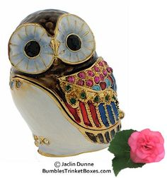 Trinket Box: Minature Owl
