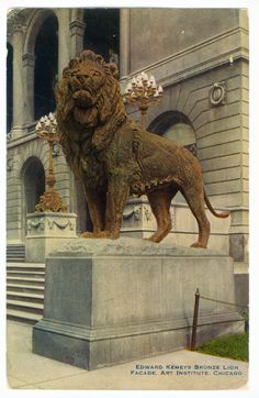 The Art Institute, Chicago    Chicago Postcard Museum
