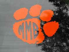 Clemson  Clemson Tigers  Car Decal  by MaggiesCraftTime on Etsy, $11.99