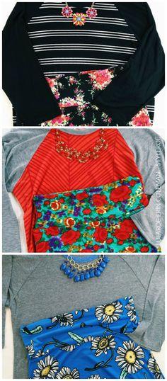 Style Roe: LuLaRoe Outfits Randy and Cassie! #lularoe  www.facebook.com/groups/lularoewithamber