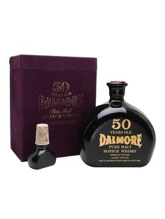 Very similar in character to the Dalmore 50yrs in the crystal decanter (they are from the same batch of stock), this is an earlier presentation from the 1970s and is packaged in a smart black ceram...