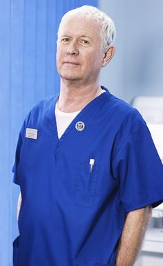 Born: April 1948 ~ Derek Thompson is a Northern Irish actor, most notable for playing Charlie Fairhead in the long-running BBC television medical drama series Casualty. Casualty Tv Show, Casualty Cast, Medical Tv Shows, Medical Drama, Holby City, Movie Co, Northern Irish, Bbc Drama, Bbc One