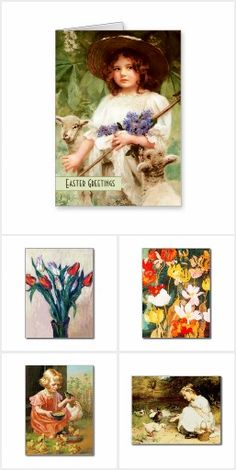 Fine Art Collection of Easter Greeting Cards and Gifts from the oldandclassic store at zazzle.com