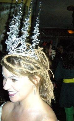 Ice Queen, one of my favorite costumes (2009)