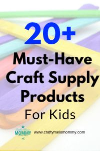 Asking what the best basic craft supplies are for your toddler or preschooler? Check out these basic craft supplies everyone should have in their home